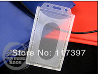 Wholesale wholesales Molding Injection plastic ID badge HOLDER id card holder name tag Vetical