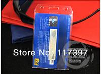 bagde holder - wholesales Vertical ID bagde holder plastic card holder name card badge holder