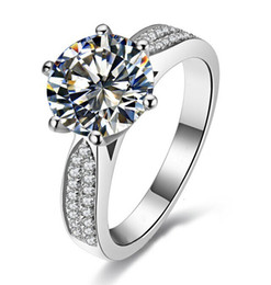 online shopping Victoria Wieck Engagement White Topaz Diamonique KT Gold  Filled Wedding Band Ring Gift