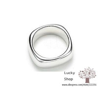 Wholesale R004 sterling silver ring silver fashion jewelry Square Ring aceaitla atmajkta