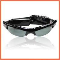 Wholesale 2PCS Hidden Camera Spy Sunglasses Camera DVR Spy Camera Video DV MP3 pair lens sc48
