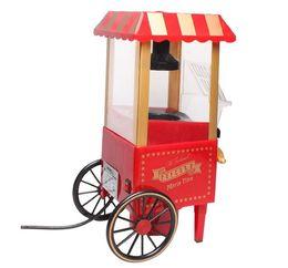 China Post Air ! Cool Electronic Gadget DIY Mini Retro Carriage Popcorn Machine