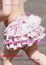 Wholesale mix color print Infant baby bloomers infant newborn pleated diaper bloomers shorts babies print ruffler bloomers