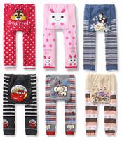baby designer clothes lots - Baby Clothing Winter Elastic Cartoon Baby Toddler Cotton PP Pants leggings Unisex Baby Tights Kids Designer Leggings