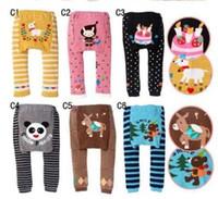Wholesale NEW Arrival Children Kids PP Pants Long Trousers Cartoon Legging Cotton Baby Boys Girls Wear HOT Sale