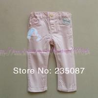achat en gros de za bébé-Gros-Détaillants (1-3Y) Pantalon Za bébé avec Bow, Za glable taille Pantalons, Pantalons filles, bébés pantalons Pantalons de loisirs pour les filles