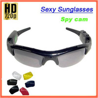 Wholesale Spy Camera P MP CMOS Spy Sunglasses Camera pair lens sc45