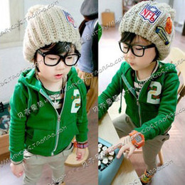 Wholesale spring g boys clothing girls clothing baby child with a hood outerwear H0096