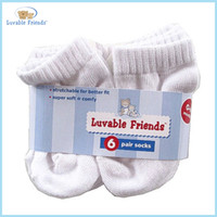 baby no show socks - 6pair White Pack No Show baby Socks months