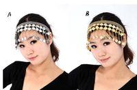 Belly Dancing belly dance headpiece - Belly dance costumes Headband Headpiece Dancewear Jewellery gold silver Head Accessory