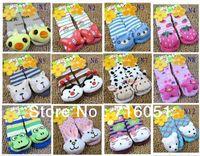 baby figurines wholesale - Baby Cartoon socks years autumn baby socks Kids socks non slip floor figurines pairs