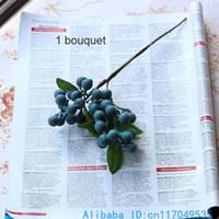 beautiful berry - 1 Beautiful Artificial Bush Berry Bouquet Foam Flower Home Decoration F176