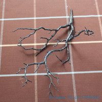 beautiful artificial plants - 1 Beautiful Artificial Plastic Dried Branch Plant Home Wedding Decoration F220