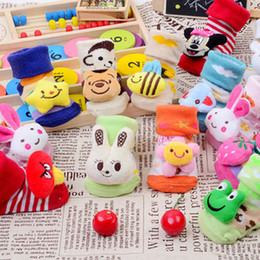 Wholesale 5pairs Kids Baby Unisex Newborn stereoscopic Animal Cartoon Socks Cotton Shoes Booties Boots M can be selected