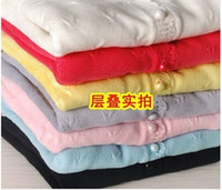 baby clothes basics - children s spring clothing female child sweater child cardigan sweater outerwear baby sweater basic shirt