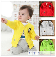 Wholesale Small children s clothing years old baby autumn baby shirt male female child long sleeve shirt cotton clothes