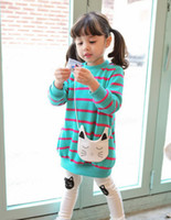 backpacks coated cotton - baby clothes korean boy clothes girls clothes cotton striped cat suit girls backpack clothes sets roupa infantil