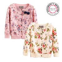 Wholesale children clothes flower knitting cashmere cardigan sweater coat kids girl woolen sweater next clothing style for yrs