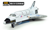 alloy discovery - U S Discovery Space Shuttle alloy model with light and sound strongly pullback performance
