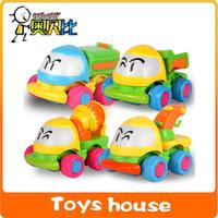 toy crane - 4pcs crane friction truck toy car classic toys baby toy cheap toys