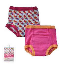 Wholesale Unisex baby kids cheap boys girls broad brimmed cotton shorts underwear pant years PACK TRAINING PANTS