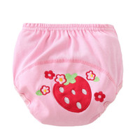 Wholesale 6 Styles cartoon print Character waterproof cotton potty training pants Children s diaper pants Baby underwear