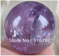amethyst crystal balls - free P P Rare Natural Amethyst Quartz Crystal Magic Sphere Healing Ball mm Stand