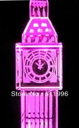 Wholesale London olympics souvenir cm london crystal Big Ben Crystal material