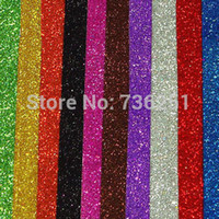 Wholesale A4 Handmade Materials of Adhesive EVA Glitter Foam Paper Sheet Home Wall Decorations pics