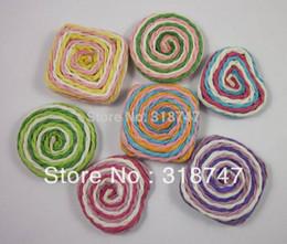 Wholesale mm mixed color paper craft Supplies lollipop crafts ideas for DIY scrapbooking decoration