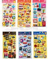 baby scrapbooking paper - TZ18 Kawaii cute travel stamp design D Stickers scrapbooking kit photo album notebook accessories baby show decoration sheets