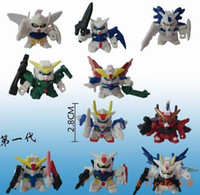 gundam - Japana anime pvc am action figure toys tall cm set set doll figure for collection