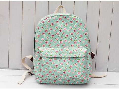 Wholesale Girls High School Rucksack Children Cute Floral Designer ...