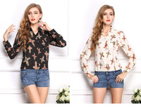 religious pictures - LY004 Plus Size XL Women Sexy Month Religious Cross Anchor Dot Print Picture chiffon shirt Blouses
