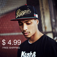 Wholesale Hot Selling Quality Cheap Adjustable BIGGIE Gorras Bones Snapbacks Caps Baseball Hip Hop Caps Hats
