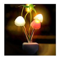 avatar christmas light - 2 New Hot Avatar Round Head Dream Night Wall NightLight Mushroom Lamp Led Night Lights US Plug V SV02