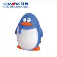 best decorated bedrooms - Guanya mini night light for bedroom decorating Penguin LED saving energy and with long light W Best gift for children