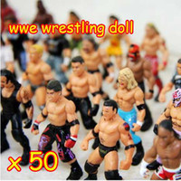 Wholesale 50 And Retail Action Figure toys wrestling doll dolls Many Different Style