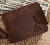 purses brand name - men s wallet Brand name genuine Leather Wallet for men Gent Leather purses hot fashion