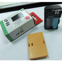 Wholesale LP E6 BATTERY FOR Canon D Mark II D NEW