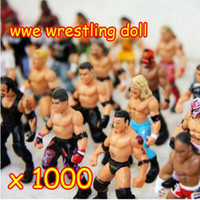 Wholesale 1000pcs a large brand Action Figure toys wrestling doll dolls Many Different Style