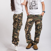 army boot camp for women - Hottest women army fatigue baggy pants cargo pants sports wear mens camouflage cargo trousers for hiking amp camping