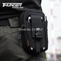 Wholesale D30 Tactical Waist Pack Men Outdoor D Nylon Waterproof Molle Pouches SAMSUNG Mobile Phone Cover Bags