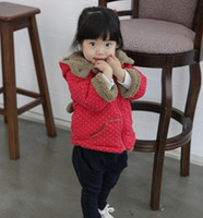 Wholesale Hot sale high quality New winter style baby cotton thick winter Children s cotton coat