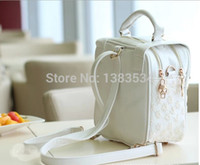 academy acrylic - Small dandelion lace bag new tide Korean Academy shoulder cross backpack bags