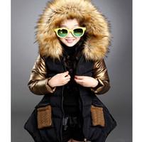 Wholesale Fashion Winter parkas girl clothing brand kid clothes children outerwear coats princess girls jacket children s wear GC17