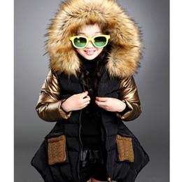 Wholesale-2015 Fashion Winter parkas girl clothing brand kid clothes children outerwear coats princess girls jacket children's wear GC17