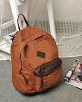 best laptop bags - 2015 Best Seller Women s Girls Dot Printed Backpacks School Bags Womens Classic Canvas Rivet Laptop Bag Day Pack Colors