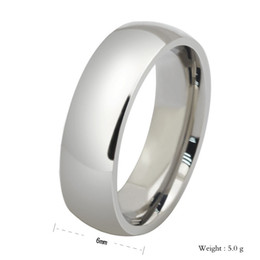 Full Sizes Silver O Jewelry Titanium Rings Men Wedding Rings Silver Big Party Rings Finger Stainless Steel Jewelry,RN2926