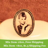 avatar ring - Fashion vintage Monroe Avatar rings jewelry cRYSTAL sHOP